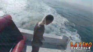Hardcore ass pounding on a boat outdoor near Sao Paulo